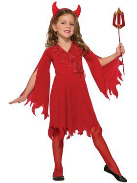 Child Delightful Devil Costume