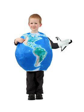 Earth and Spaceship Child Costume