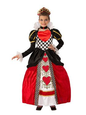 Elite Red Queen Costume for Kids