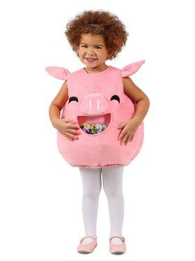 Feed Me Piggy Girl's Costume