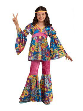 Flower Power Child Costume