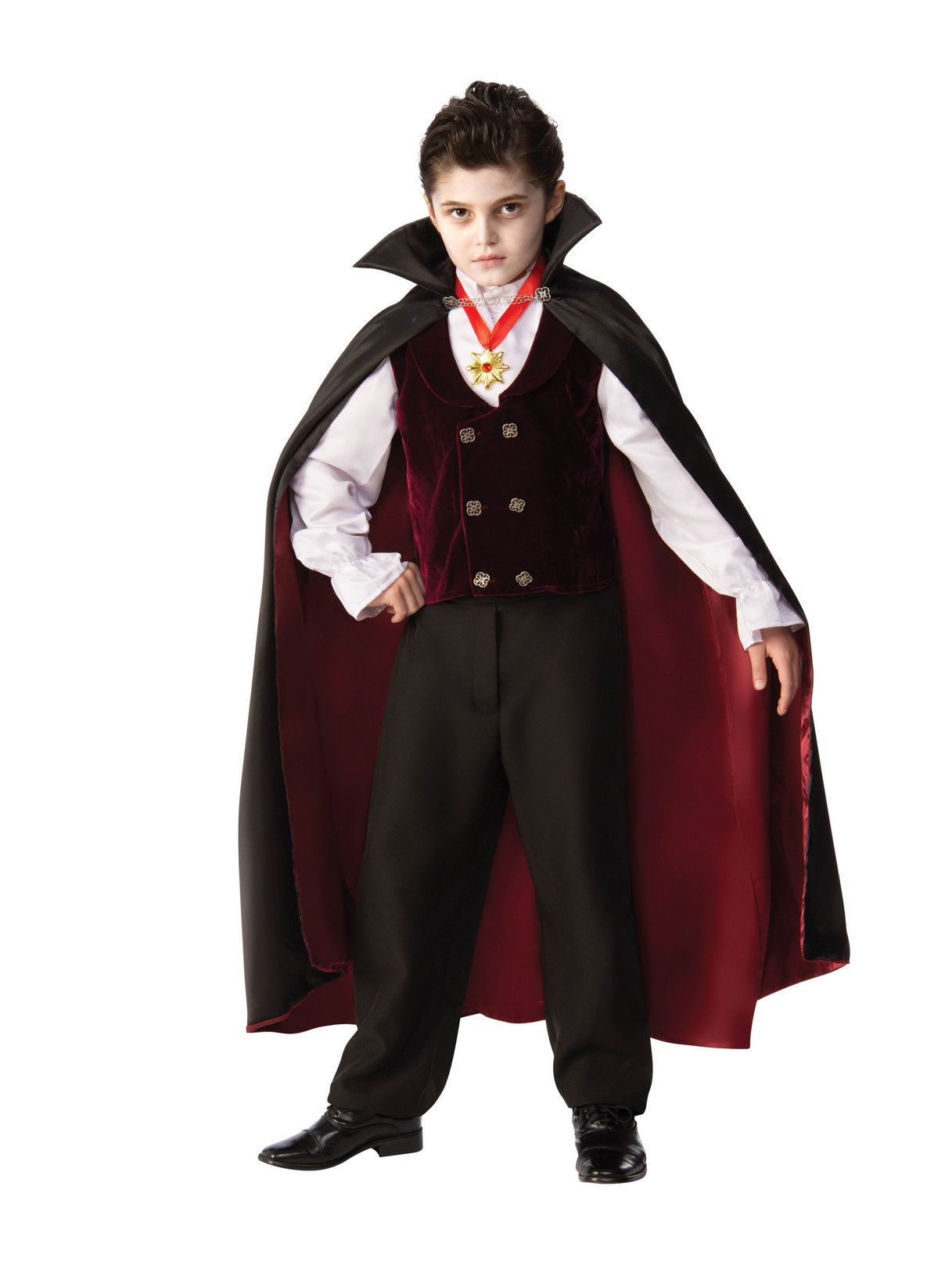 5a13a9533bcc Mens Gothic Renaissance Vampire Costume - Boys Costumes for 2018 ...