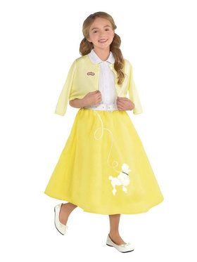 Grease Summer Nights Child Sandy Costume