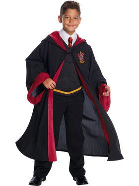 Harry Potter Gryffindor Child Student Costume