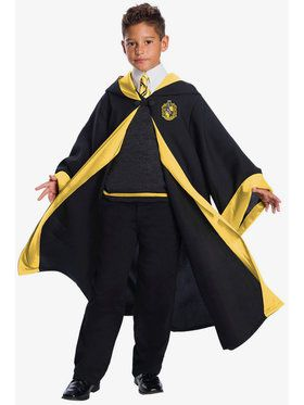 Harry Potter Hufflepuff Student Costume For Children
