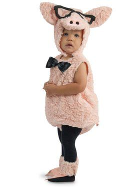 Hipster Pig Child Costume