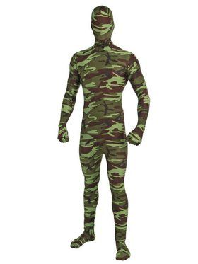 Child I'm Invisible Camo Costume