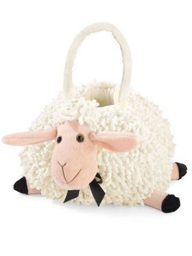 Child Lamb Trick or Treat Bag