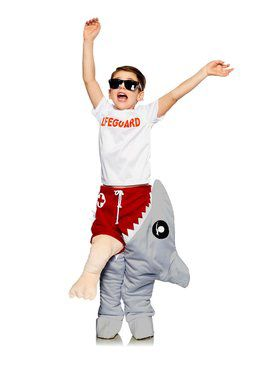Shark Attacking a Lifeguard Childs Costume