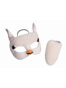 Child Llama Kit Mask And Tail Set