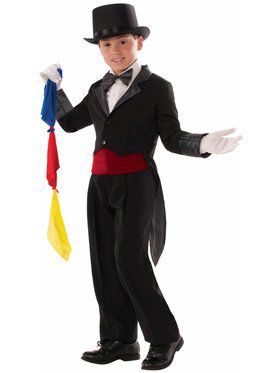 Magician Tailcoat Child Medium Costume