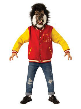"""Werewolf"" Thriller Michael Jackson Child Jacket and Mask Set"