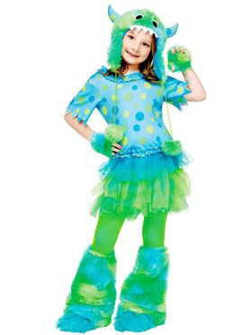 Child Miss Monster Costume