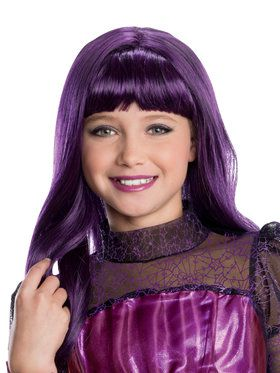 Child Monster High Elissabat Wig