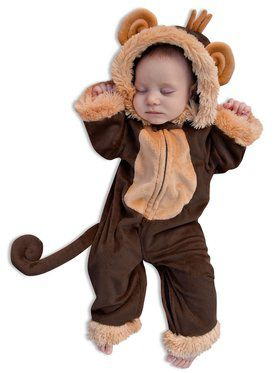 Milo the Monkey Newborn Costume