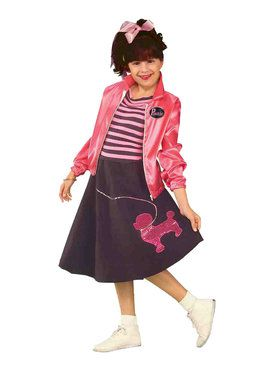 Child Nifty Fifties Medium Costume