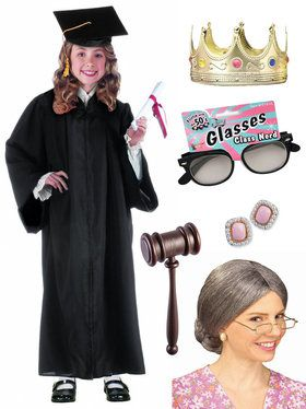 Child Notorious RBG Supreme Judge Costume Kit