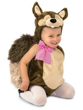 Child Nutty the Squirrel Costume
