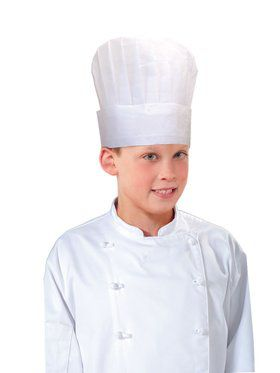 Kid's Paper Chef Hat