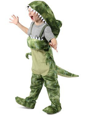People Eating Dino Child Costume