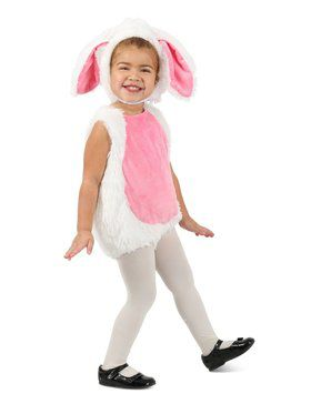 Pink and White Bunny Child Costume