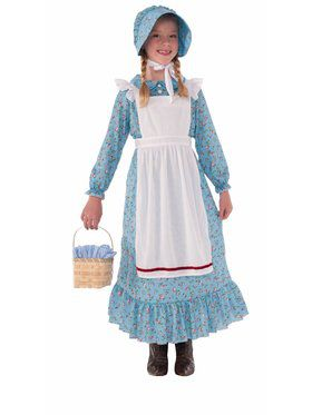 Girl Child Pioneer Costume