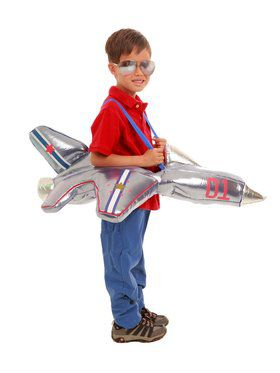 Plush Airplane Ride Child Costume