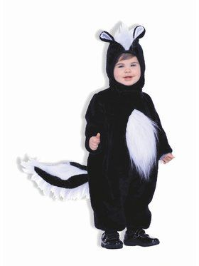 Plush Skunk Child Costume