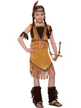 Prairie Princess Child Costume