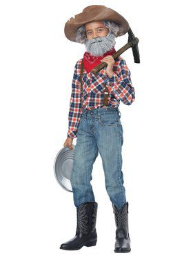 Kids Miner Kit Costume