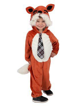 Quick the Fox Child Costume
