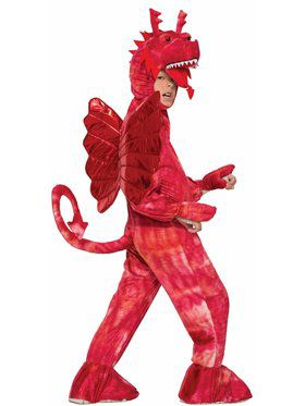 Red Dragon Child Costume