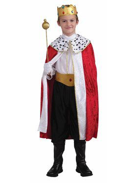 Regal King Child Costume