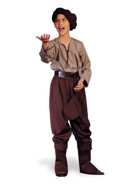Child Renaissance Peasant Boy Costume