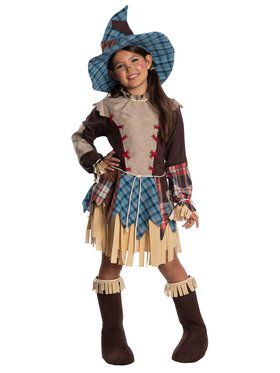 Child Scarecrow Child Costume