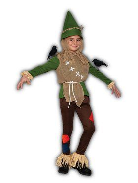 Child Scarecrow Large Costume
