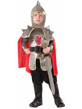 Silver Knight Child Costume