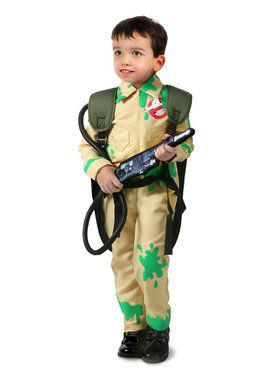 Slime Covered Ghostbuster Child Costume