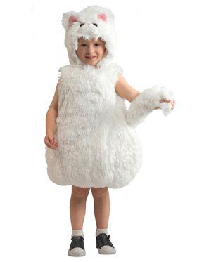 Snowball Kitty Child Costume