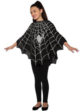 Spider Poncho Child Costume