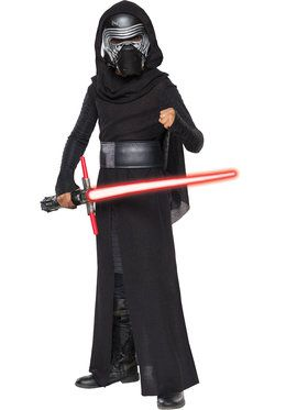 Child Star Wars Episode VII Deluxe Kylo Ren Costume