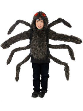 Tarantula Hoodie Child Small Costume