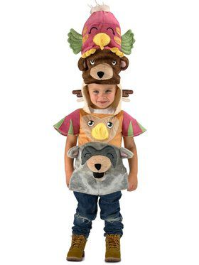 Totem Pole Child Costume
