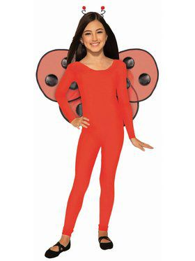 Unitard Child Red Costume