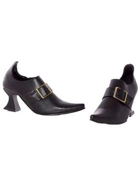 Childrens Black Witch Shoe