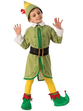 Childrens Buddy The Elf Costume