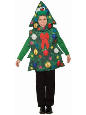 Children's Classic Christmas Tree Costume