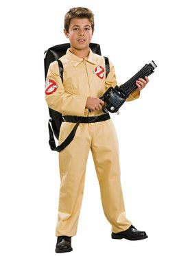 Childrens Deluxe Ghostbusters Costume