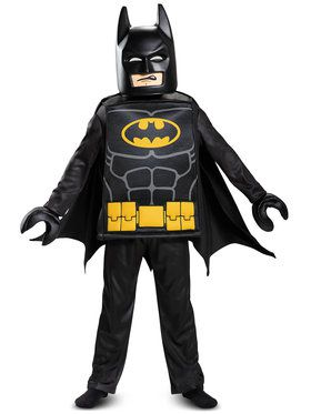 Childrens Deluxe LEGO Batman Costume