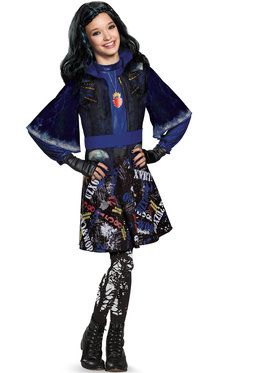 Children's Descendants Evie Isle Of The Lost Deluxe Costume